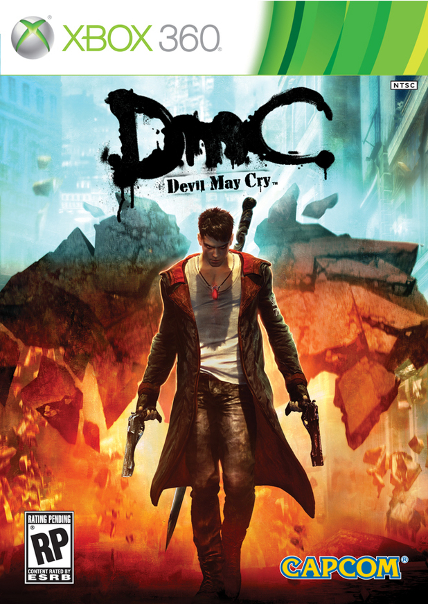 DCM: Devil May Cry box art