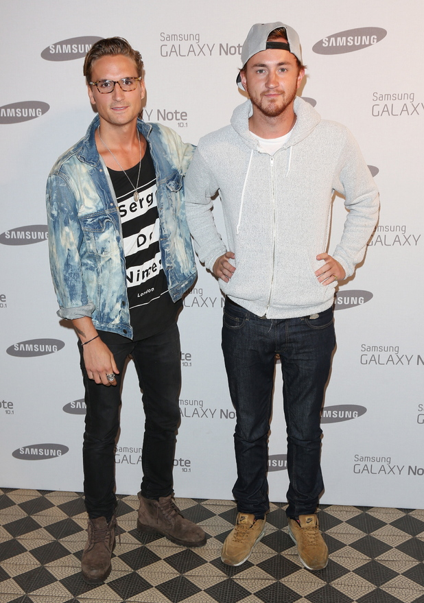Oliver Proudlock and Francis Boulle
