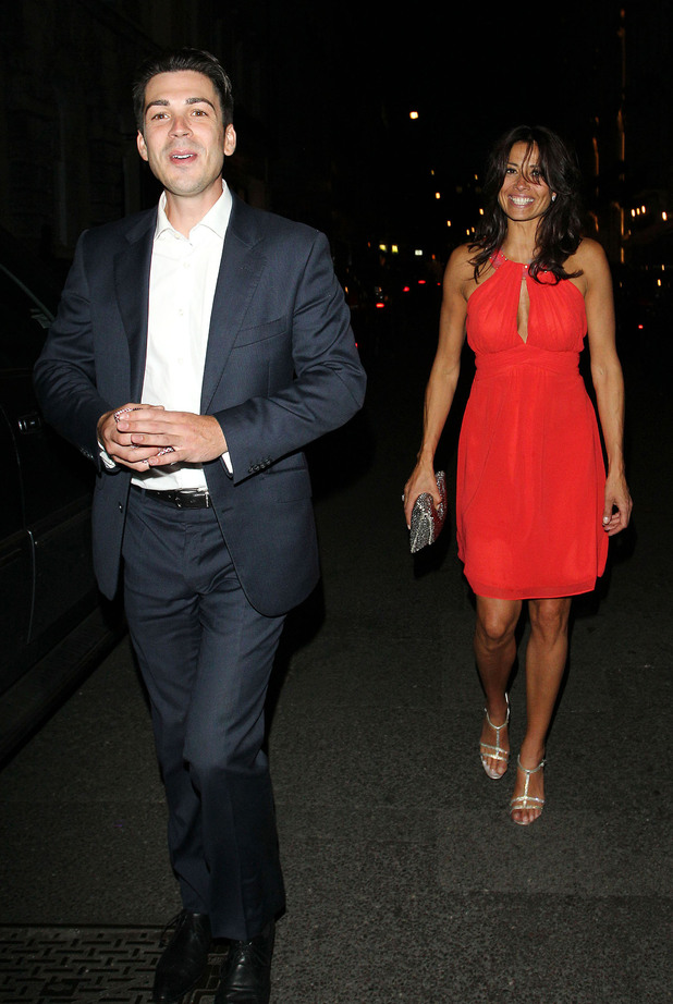 Jack Cockings and Melanie Sykes