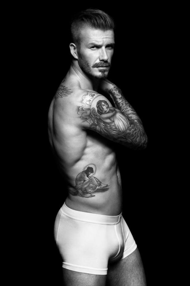 David Beckham - H&M underwear range