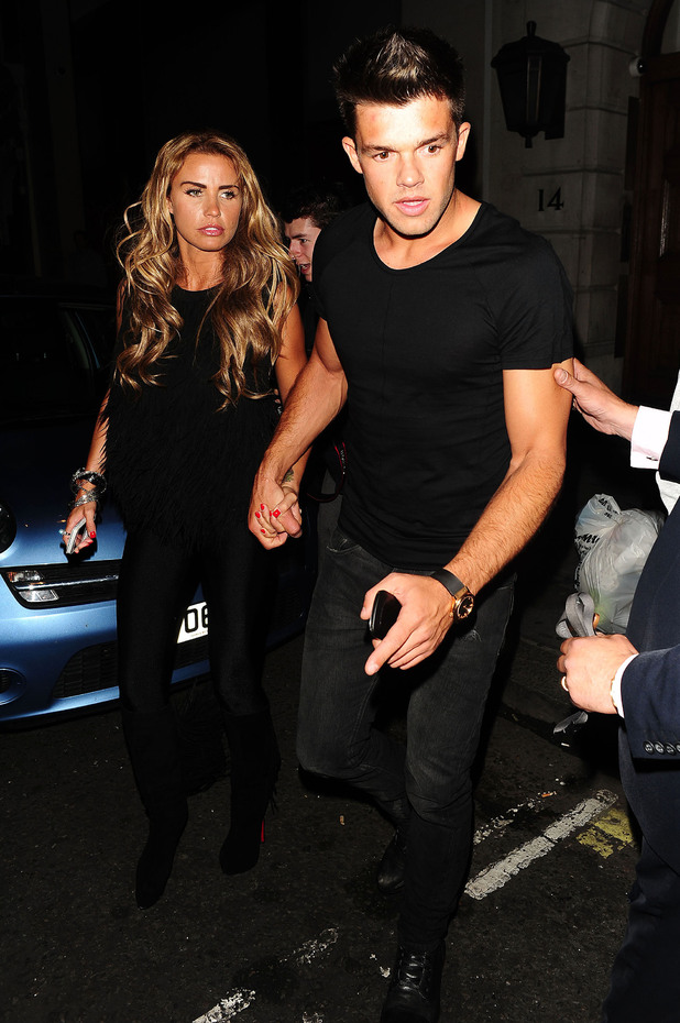 Katie Price aka Jordan and Leandro Penna 