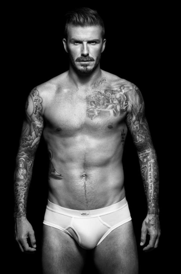 David Beckham - H&M underwear range, August 2012
