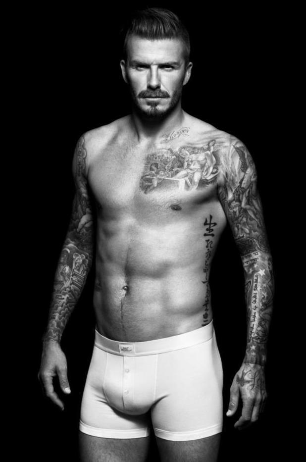 David Beckham - H&M underwear range
