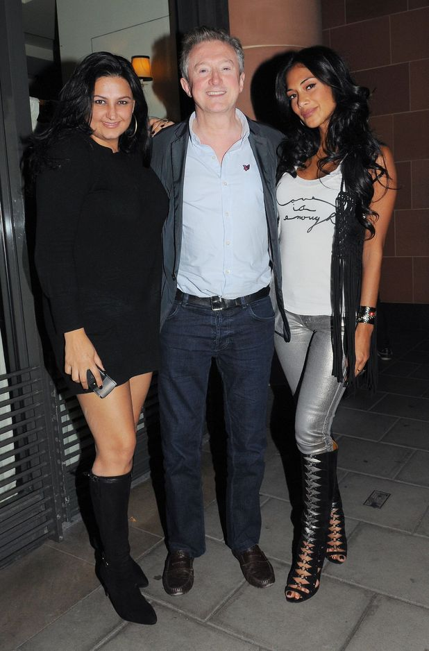 Louis Walsh and Nicole Scherzinger