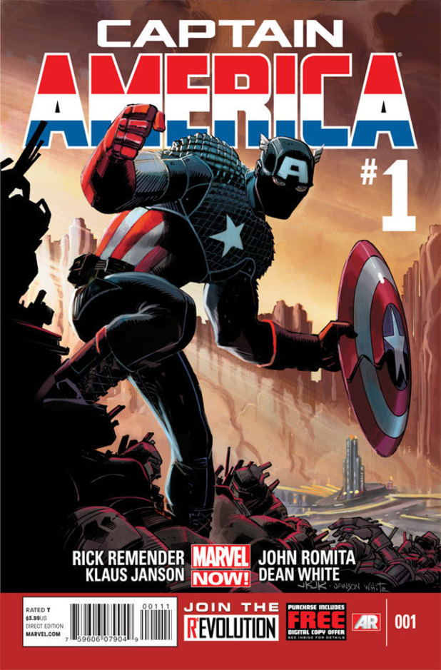 Marvel NOW! Captain America cover
