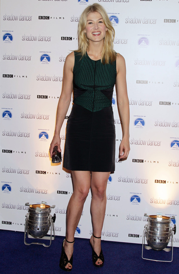 Shadow Dancer premiere Rosamund Pike