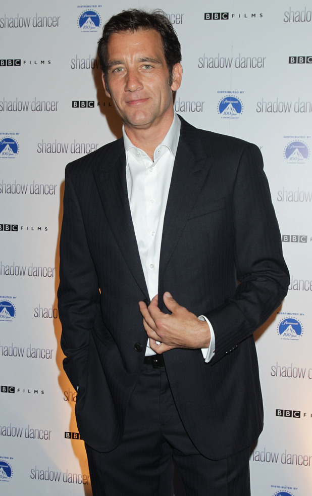 Shadow Dancer premiere Clive Owen