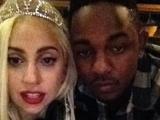 Lady GaGa and Kendrick Lamar.