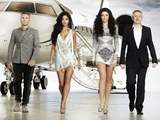 The X Factor 2012 judges Gary Barlow, Nicole Scherzinger, Tulisa and Louis Walsh