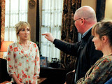 Emmerdale 6330: Paddy cracks under the pressure and angrily exposes Marlon and Laurel's relationship in front of everyone in the Woolpack, including Ashley.