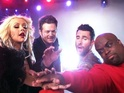 Blake Shelton, Cee Lo Green and Adam Levine battle for contestant in new clip.