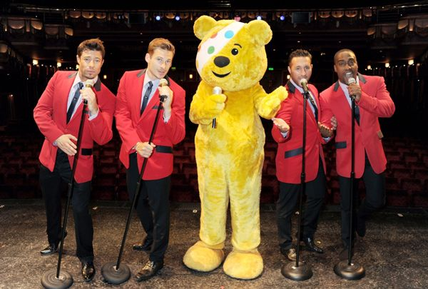 Blue to perform for Children in Need.