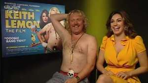 Keith Lemon and Kelly Brook 'Keith Lemon The Film' interview