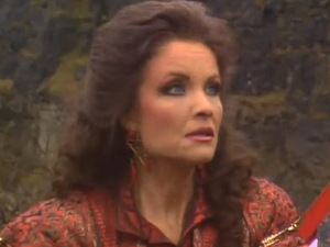 Kate O'Mara as The Rani from 'Doctor Who'