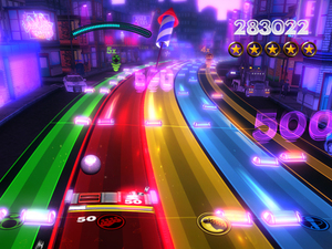 &#39;Rock Band Blitz&#39; screenshot