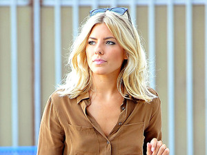 Mollie King of The Saturdays, out and about in Santa Monica. Los Angeles, California - 14.08.12 Mandatory Credit: WENN.com