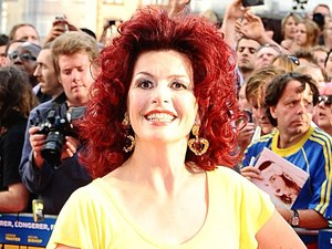 Cleo Rocos arriving for the UK Premiere of Keith Lemon : The Film