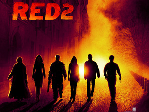 &#39;Red 2&#39; teaser poster