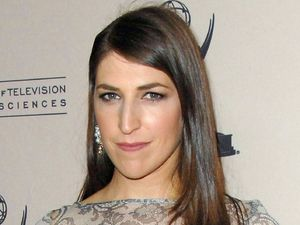 Mayim Bialik, Academy Of Television Arts and Sciences' performers Peer Group Reception, Los Angeles,