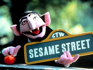 &#39;Sesame Street&#39;, the Count aka Count Von Count