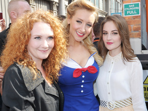 Jennie McAlpine, Catherine Tyldesley and Paula Lane capture the style of the day.