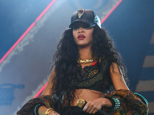Rihanna Barclaycard Wireless Festival 2012 - Day 3 London, England - 08.07.12 Mandatory Credit: WENN.com