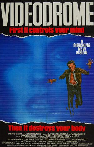 'Videodrome' original poster
