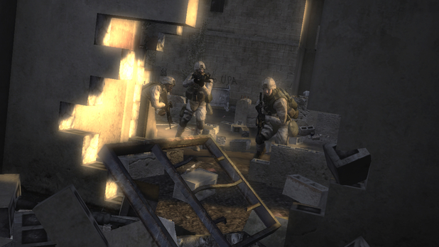 &#39;Six Days in Fallujah&#39; screenshot