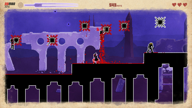 'They Bleed Pixels' screenshot