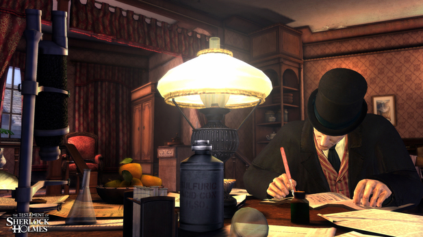 'The Testament of Sherlock Holmes' screenshot