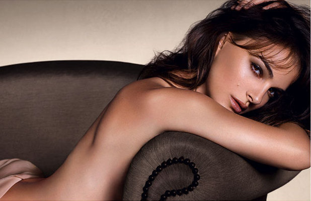 Natalie Portman poses nude for Dior