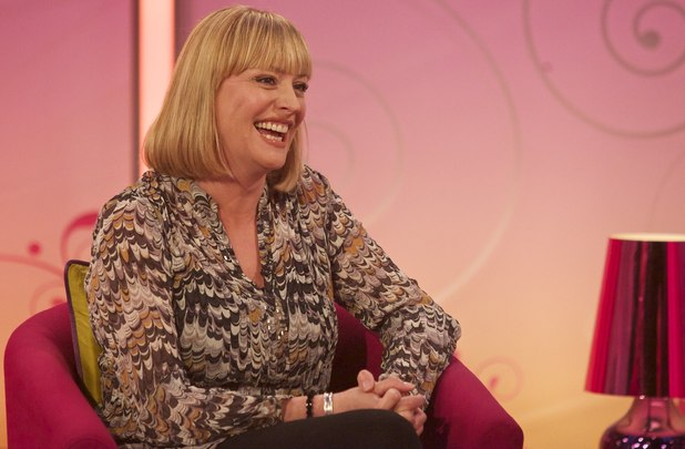 Laurie Brett appears on 'Lorraine Live'