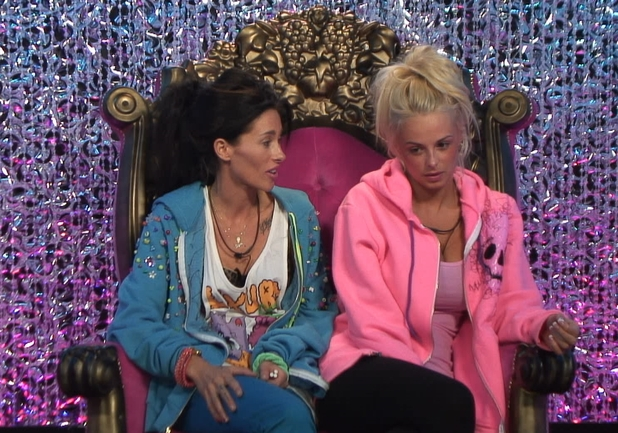 Day 7: Rhian and Jasmine in the Diary Room