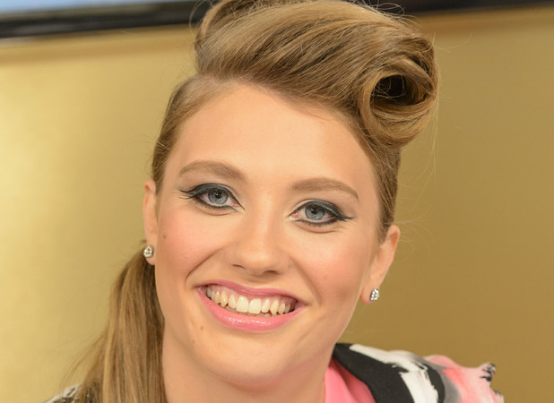 Ella Henderson on set of This Morning - 20/09/2012