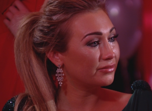 Lauren Goodger in finale episode of TOWIE series 6