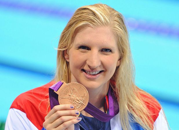 Rebecca Adlington at London 2012 Olympic Games