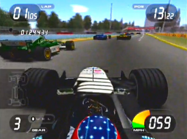 'Formula One 2001' screenshot