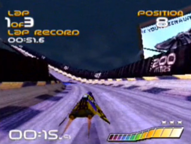'Wipeout' screenshot