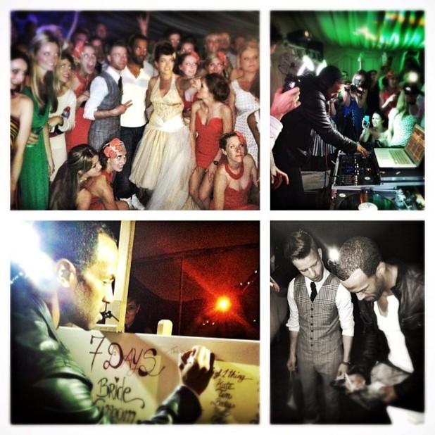 Craig David surprises couple by performing set at wedding