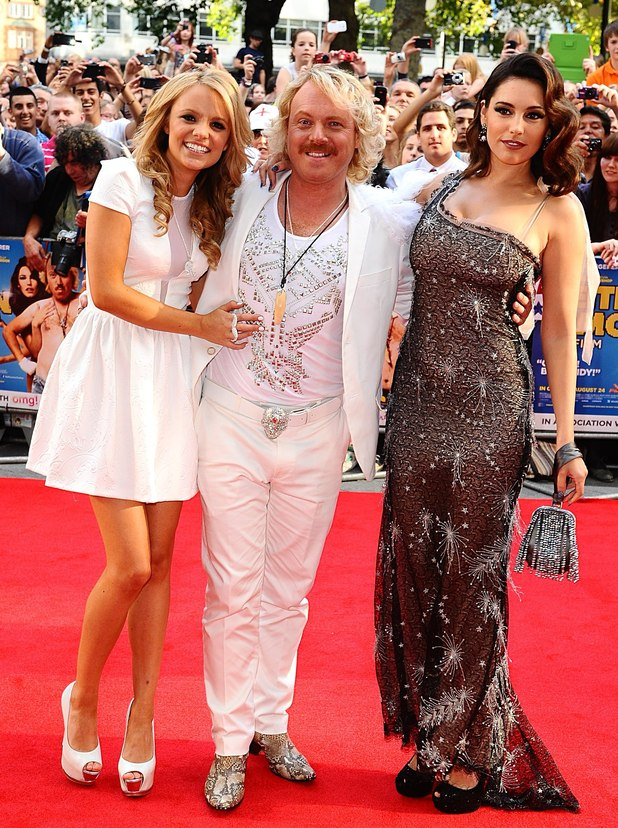 Laura Aikman, Keith Lemon, Kelly Brook
