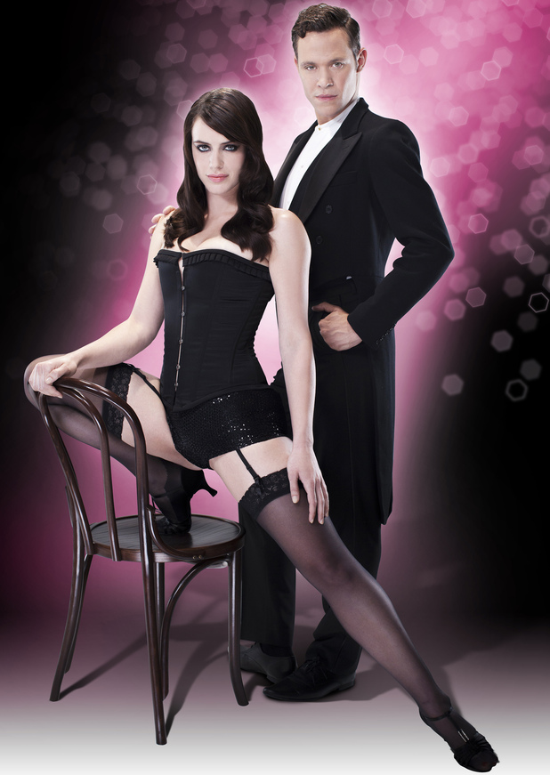 Will Young and Michelle Ryan in Cabaret.
