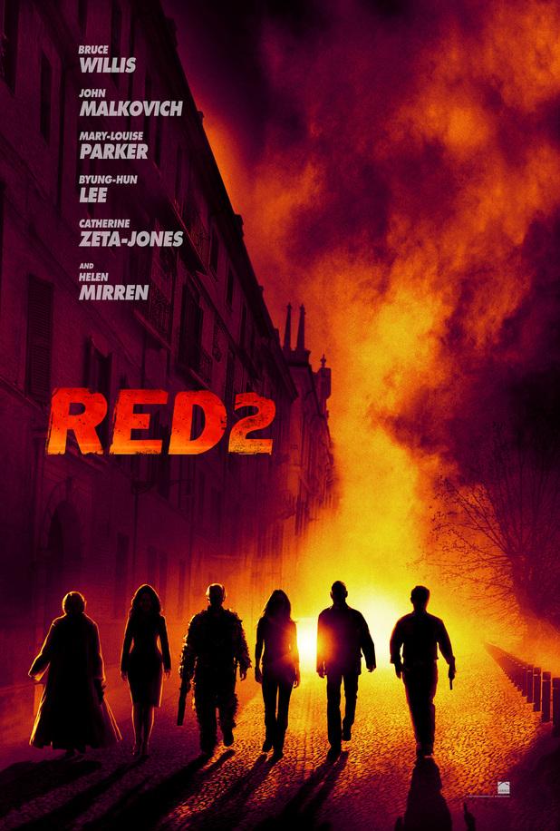 'Red 2' teaser poster