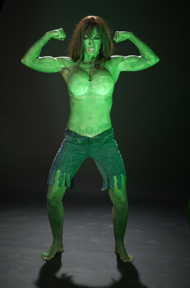 Jodie Marsh, Incredible Hulk