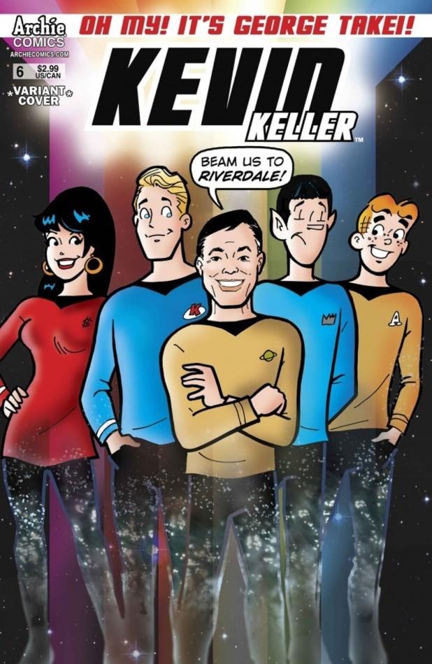 Kevin Keller #6 variant cover