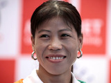 Indian woman boxer M.C. Mary Kom