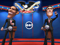 Take Obama and Romney's political battle on the go in Epic's new iOS brawler.