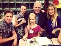 Linda and Rick Hendrick are the grandparents of Emily Maynard's daughter.