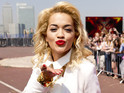 Rita Ora gives a warm welcome to The X Factor.