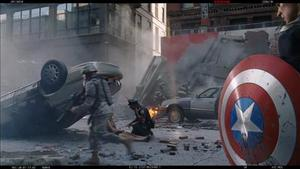 The Avengers alternate opening scene with Maria Hill - video clip