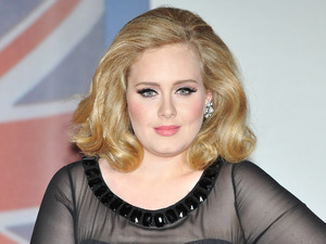 Adele Adkins 2012 Brit Awards held at the O2 Arena - Arrivals. London, England - 21.02.12 Mandatory Credit: WENN.com